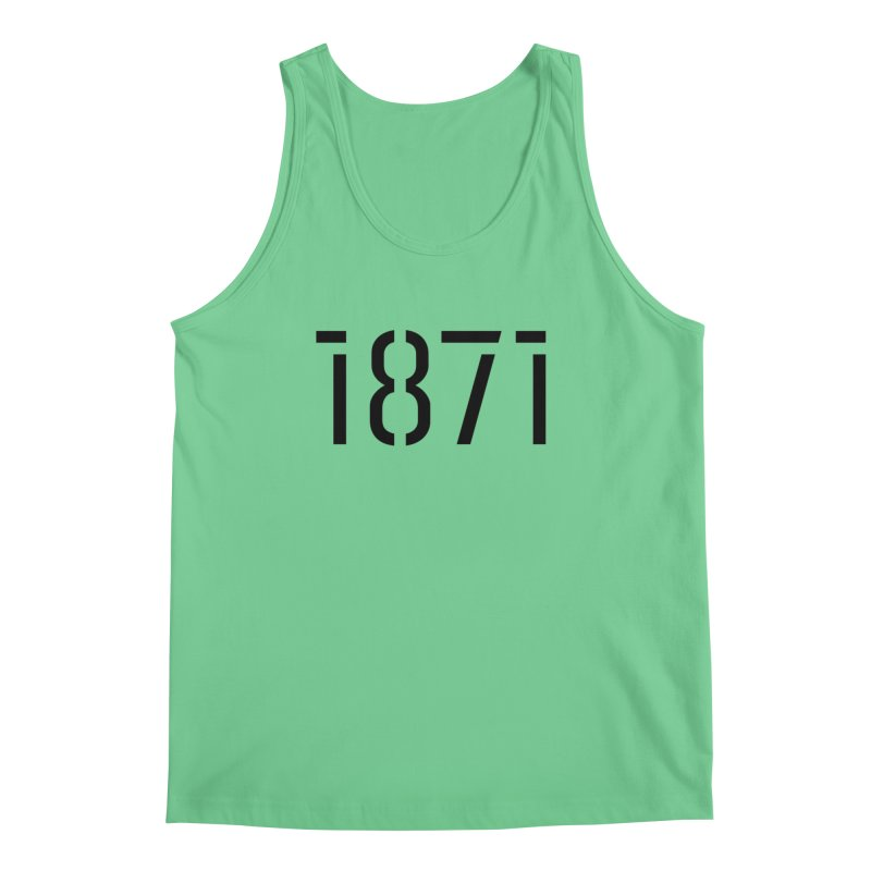 The Stencil Men's Tank by 1871's Shop