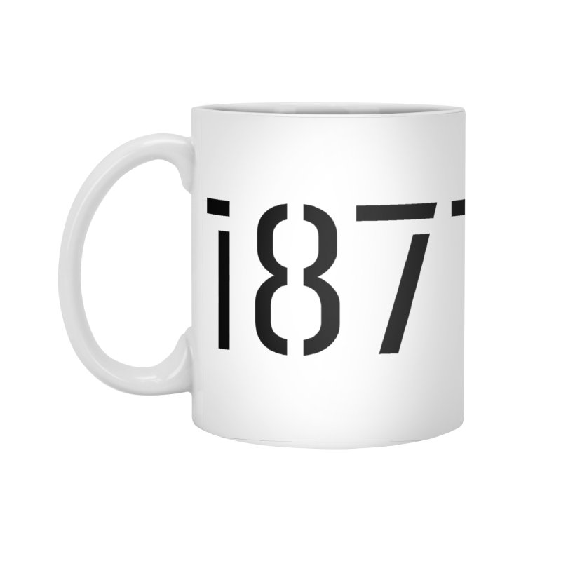 The Stencil Accessories Mug by 1871's Shop