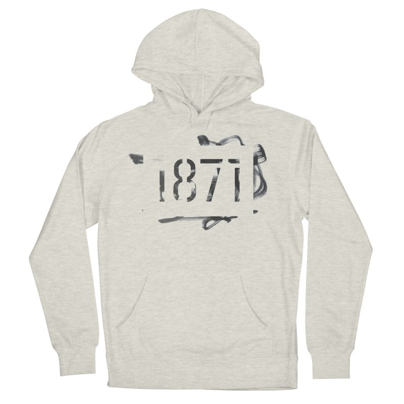 Make Your Mark in Women's Pullover Hoody Heather Oatmeal by 1871's Shop