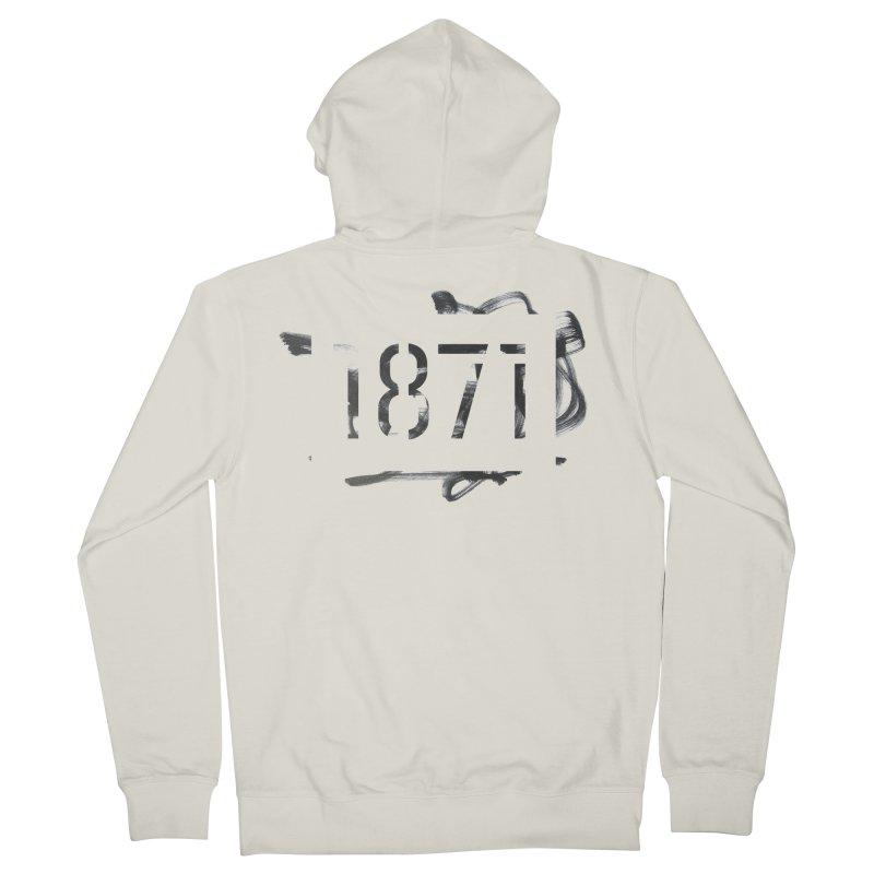 Make Your Mark Men's Zip-Up Hoody by 1871's Shop