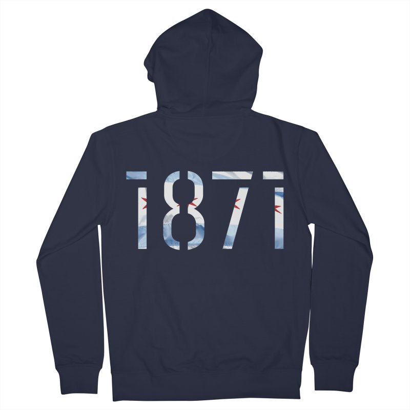 Chicagoness Women's Zip-Up Hoody by 1871's Shop