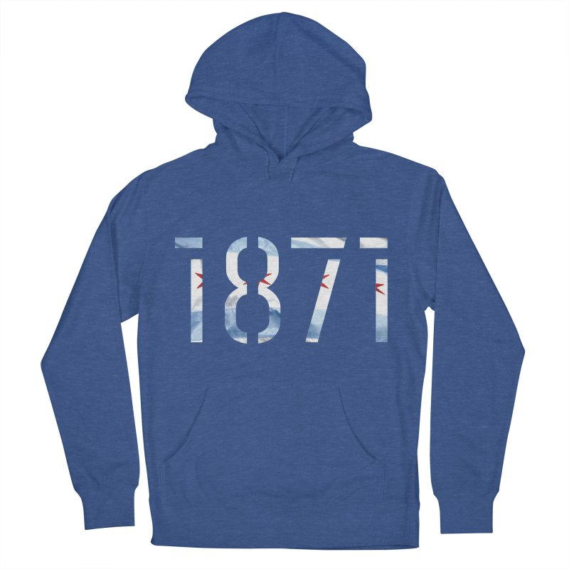 Chicagoness Men's Pullover Hoody by 1871's Shop