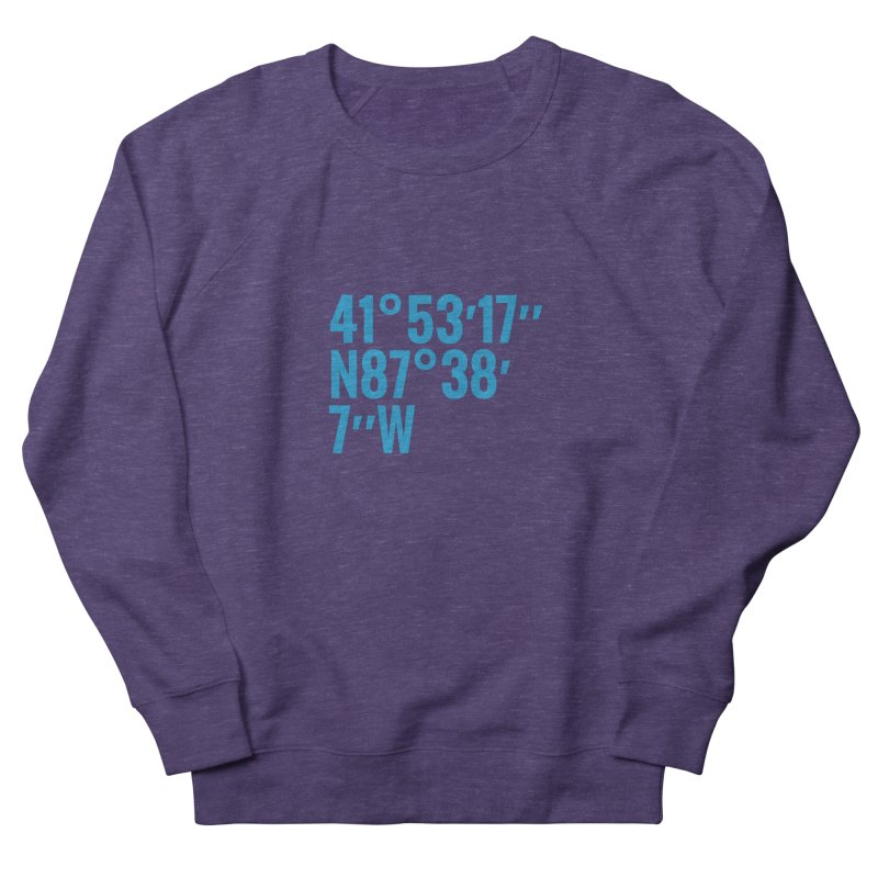 1871 Coordinates Women's French Terry Sweatshirt by 1871's Shop