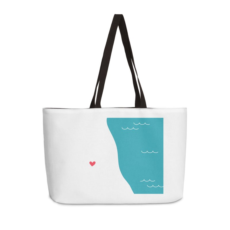 Make by the Lake Accessories Weekender Bag Bag by 1871's Shop