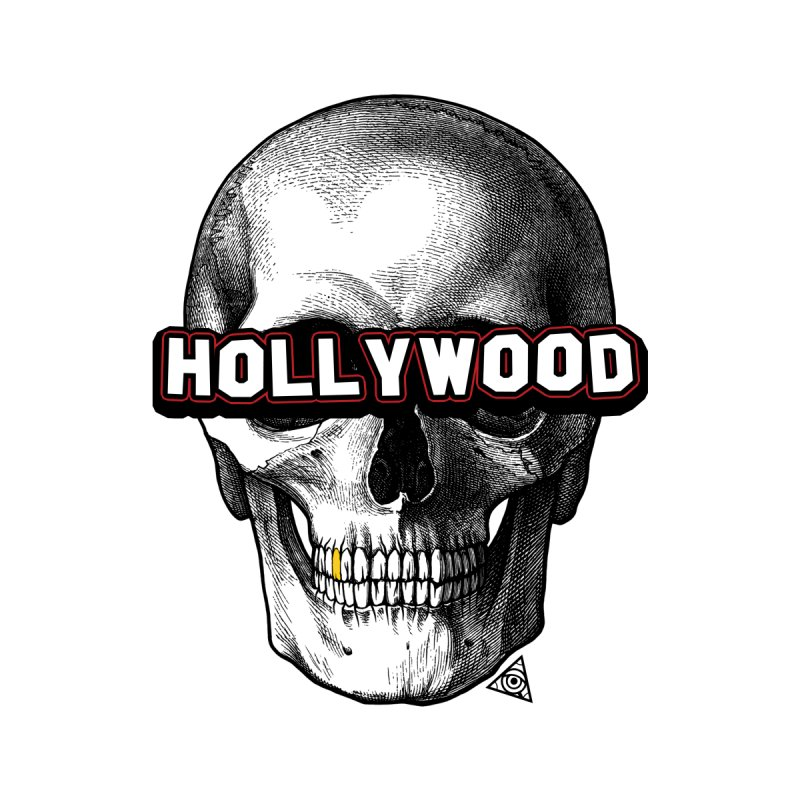 Hollywood Is Dead - Skull & Bones - Light Accessories Skateboard by The 1984 Society