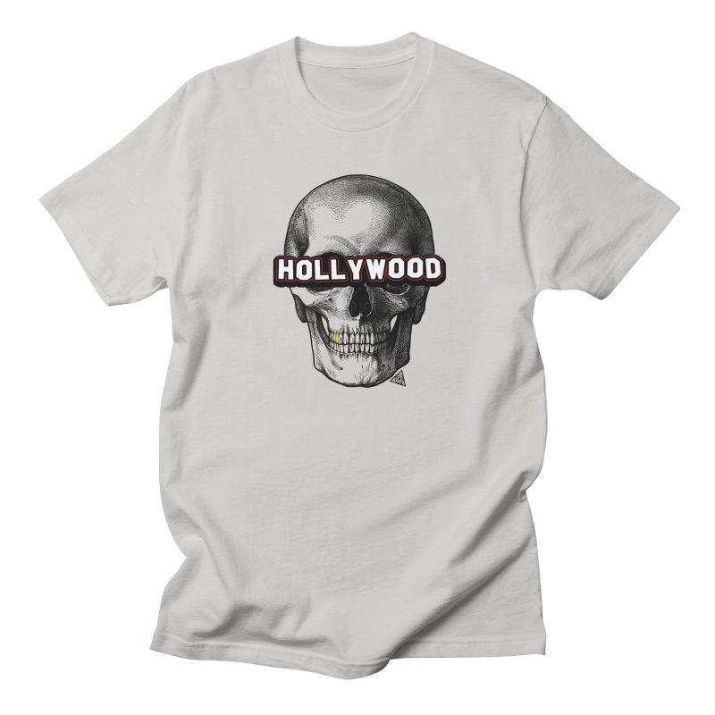 Hollywood Is Dead - Skull & Bones - Light Men's T-Shirt by 90FIVE