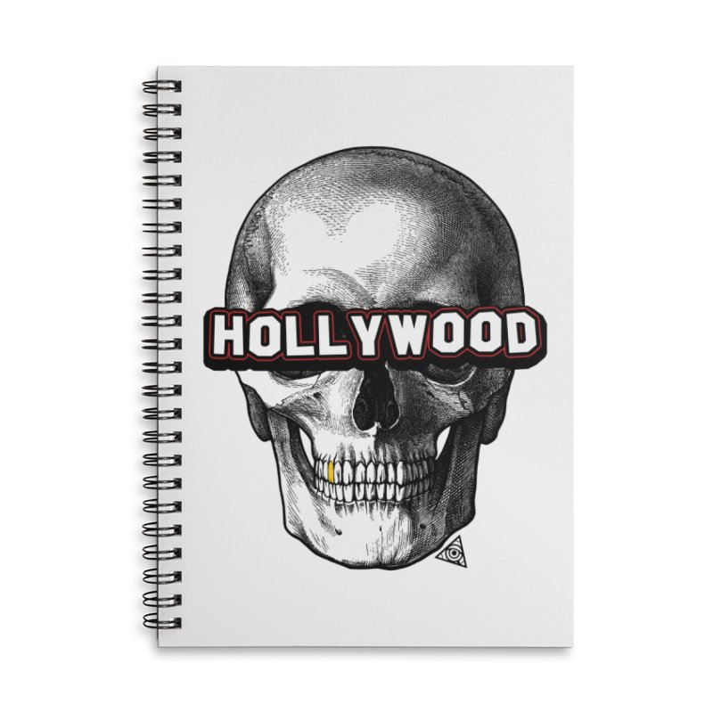 Hollywood Is Dead - Skull & Bones - Light Accessories Notebook by 90FIVE