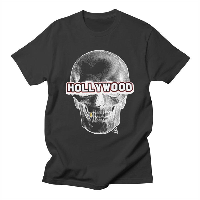 Hollywood Is Dead - Skull & Bones - Dark Women's T-Shirt by 90FIVE