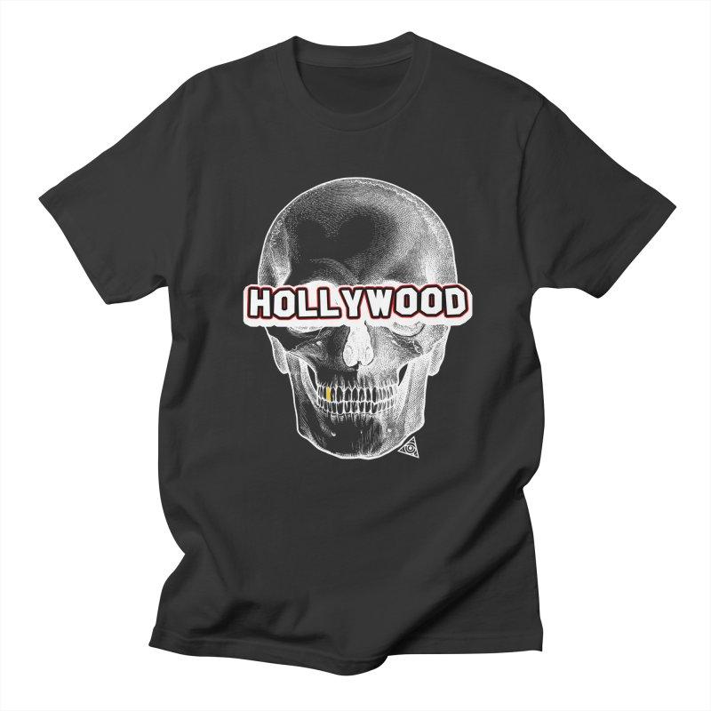 Hollywood Is Dead - Skull & Bones - Dark Men's T-Shirt by 90FIVE