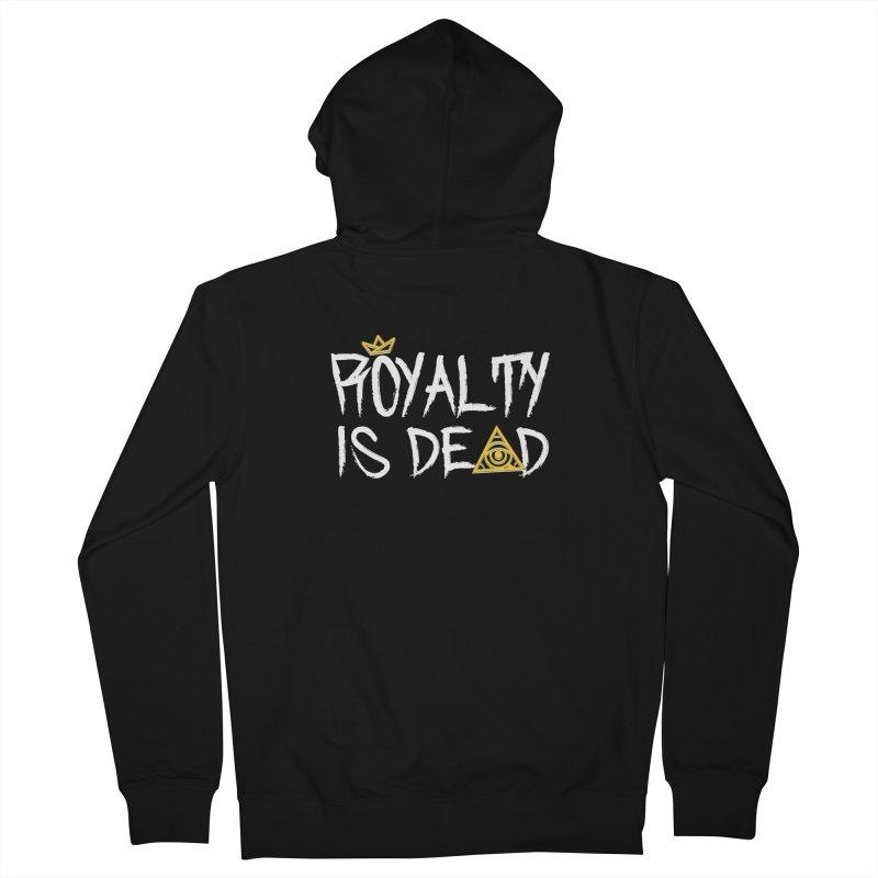 Royalty Is Dead - Dark Men's Zip-Up Hoody by 90FIVE
