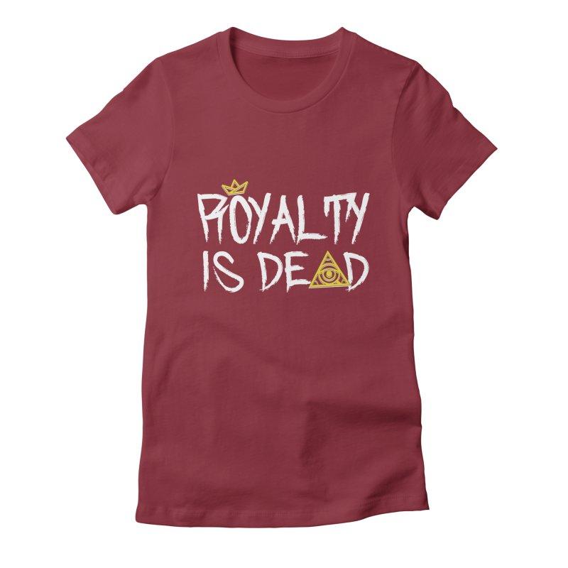 Royalty Is Dead - Dark Women's T-Shirt by 90FIVE