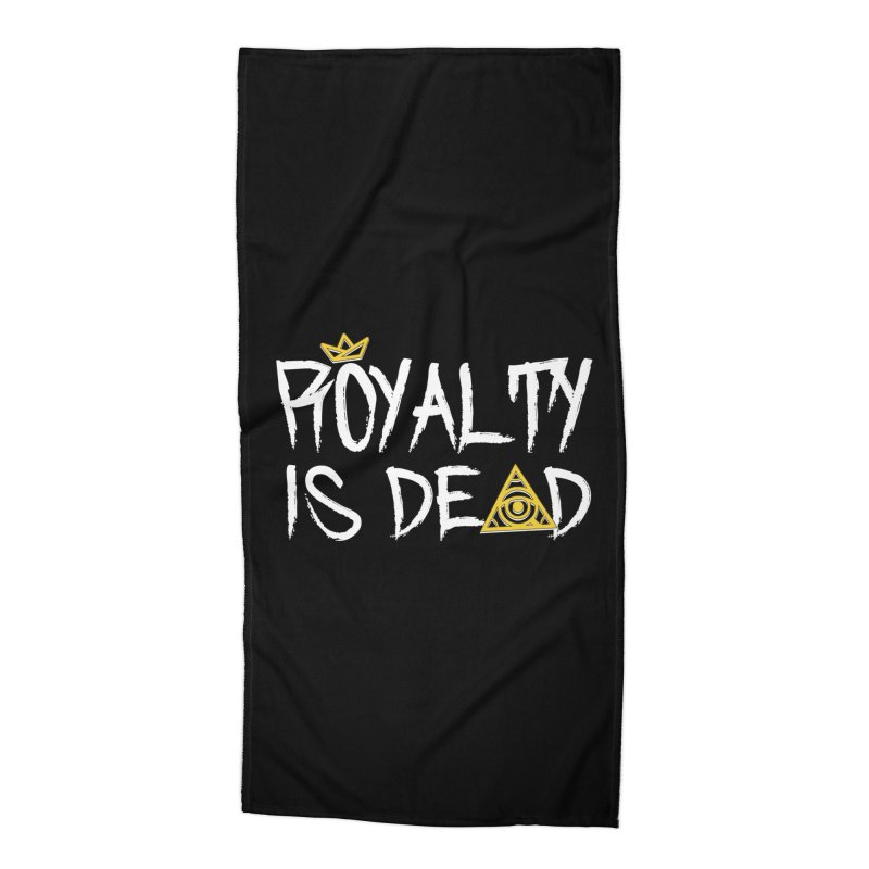 Royalty Is Dead - Dark Accessories Beach Towel by 90FIVE