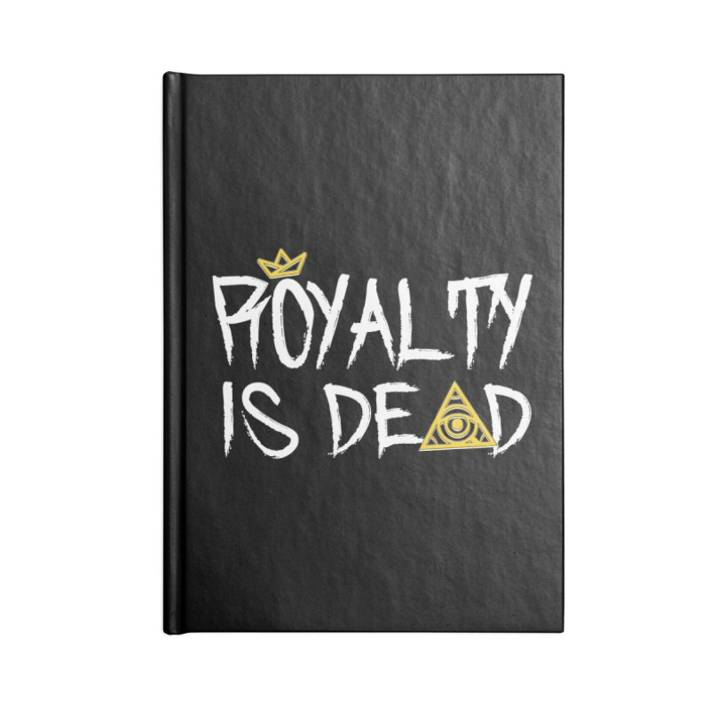 Royalty Is Dead - Dark Accessories Notebook by 90FIVE