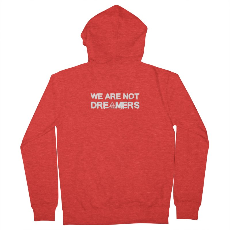 We Are Not Dreamers - Dark Women's Zip-Up Hoody by 90FIVE
