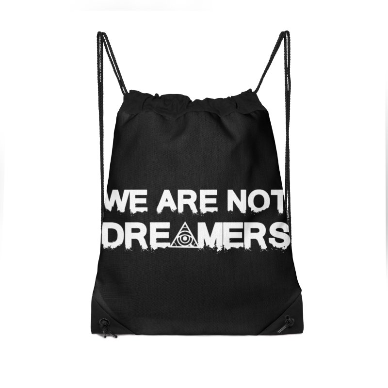 We Are Not Dreamers - Dark Accessories Bag by 90FIVE