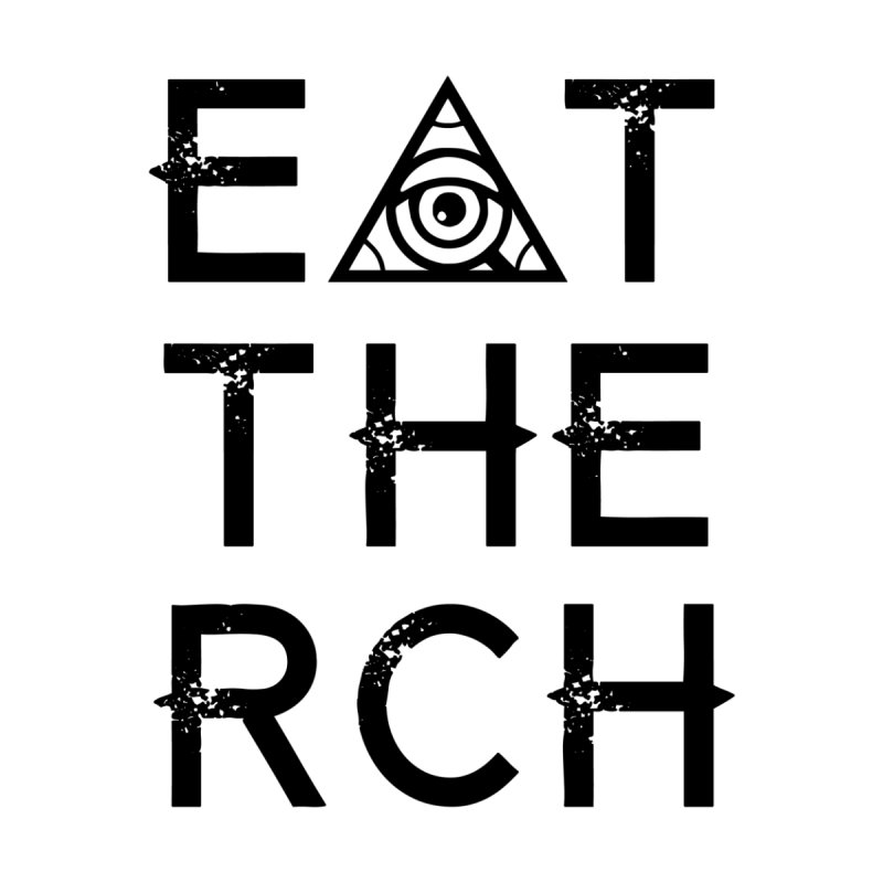 Eat The Rich - Light Women's Scoop Neck by 90FIVE