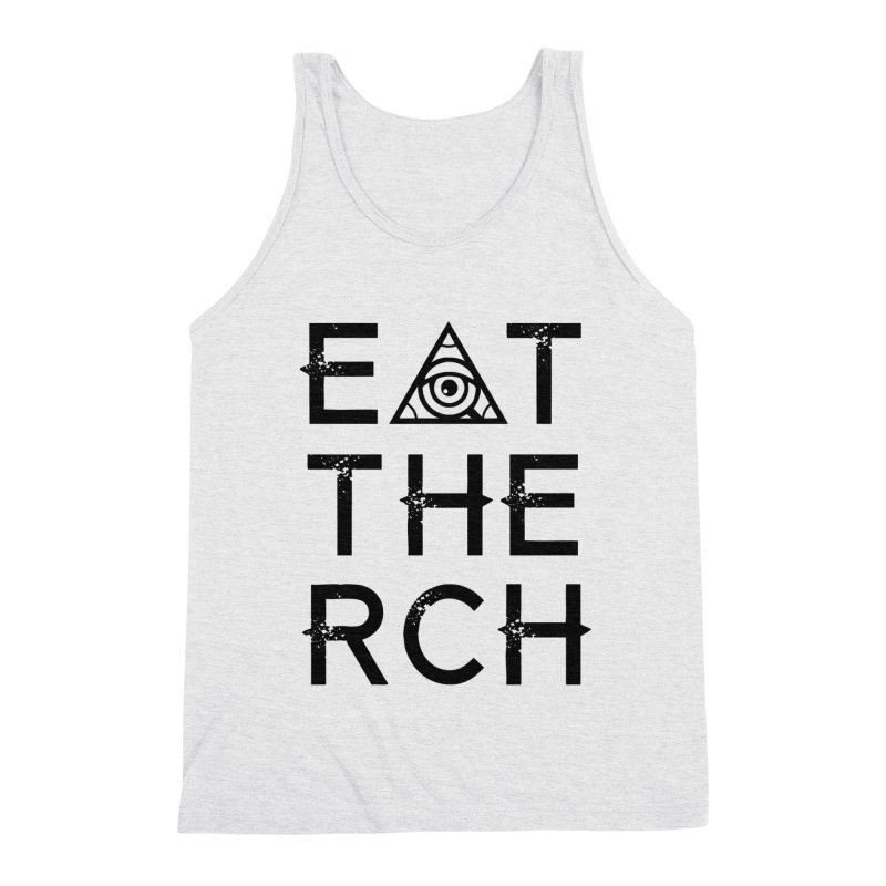 Eat The Rich - Light Men's Tank by 90FIVE