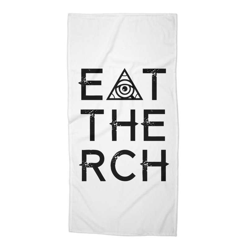 Eat The Rich - Light Accessories Beach Towel by 90FIVE