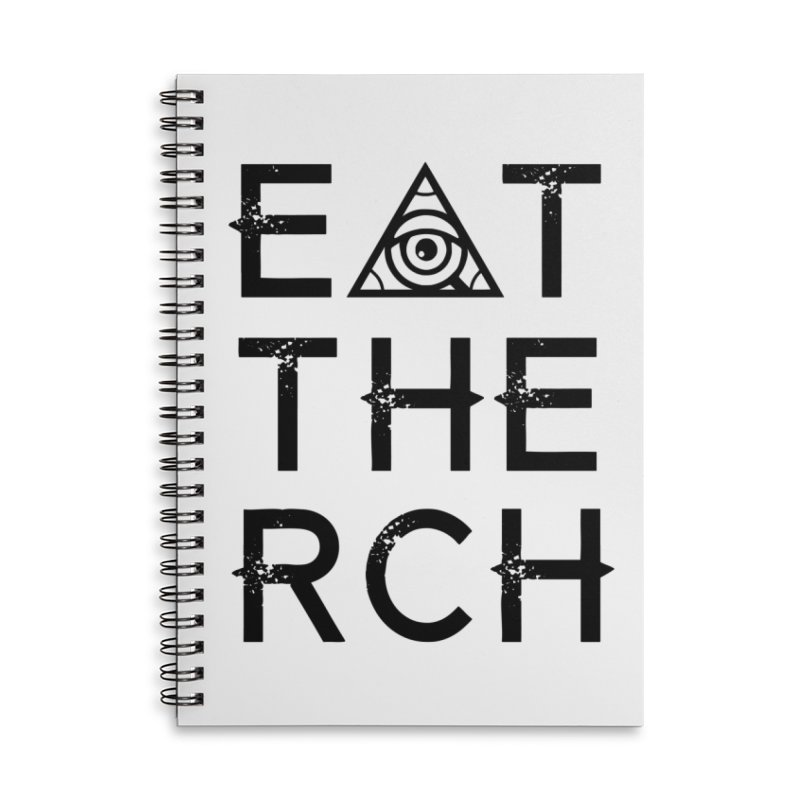 Eat The Rich - Light Accessories Notebook by 90FIVE