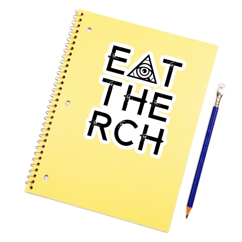 Eat The Rich - Light Accessories Sticker by 90FIVE