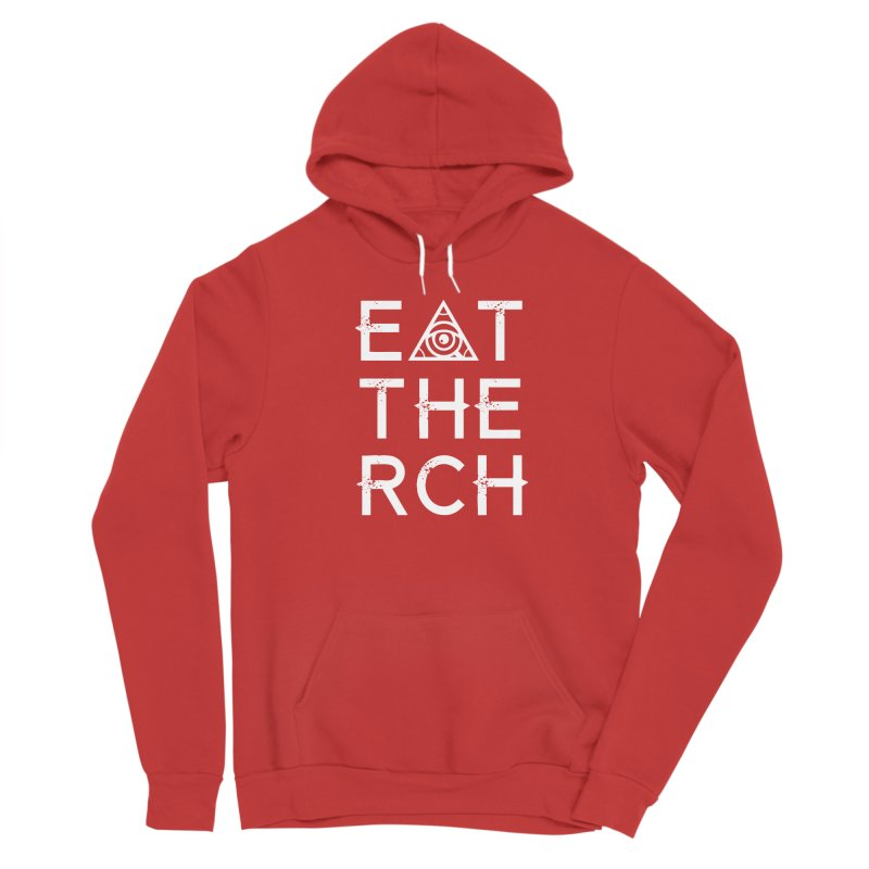 Eat The Rich - Dark Men's Pullover Hoody by 90FIVE