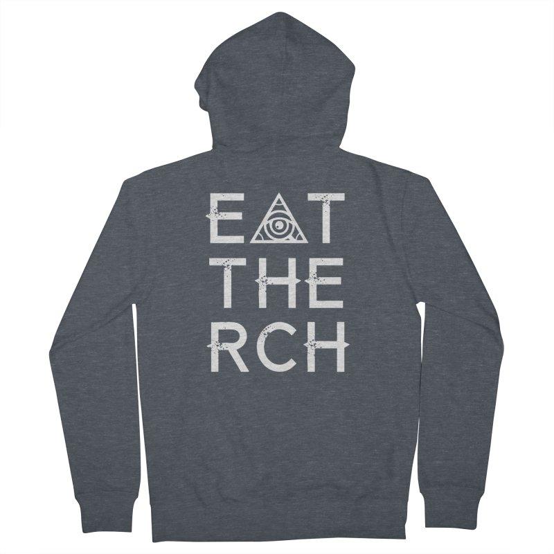 Eat The Rich - Dark Women's Zip-Up Hoody by 90FIVE