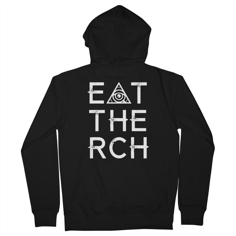 Eat The Rich - Dark Women's Zip-Up Hoody by 90FIVE