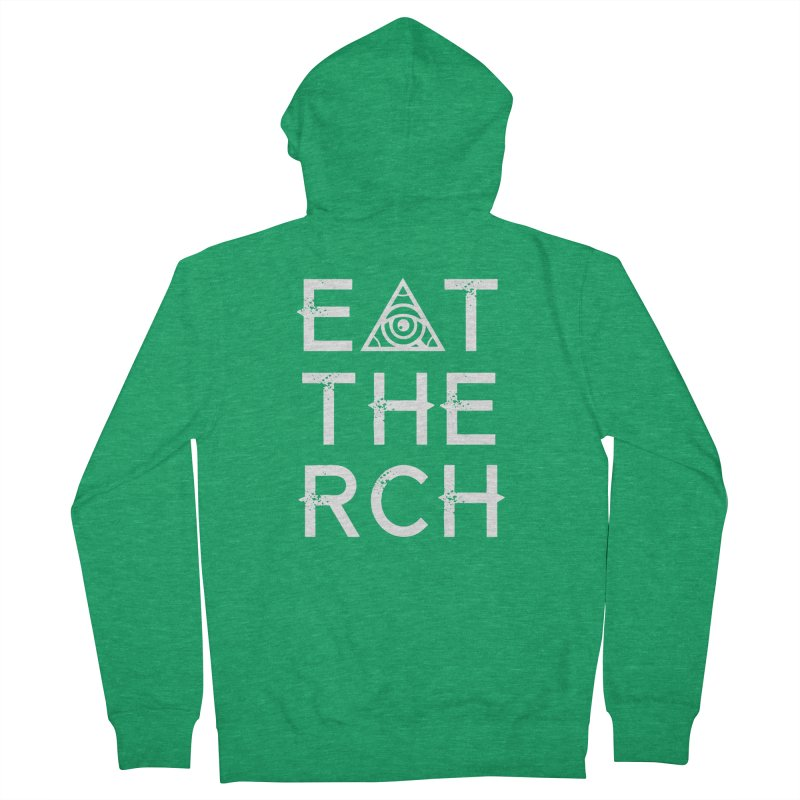 Eat The Rich - Dark Men's Zip-Up Hoody by 90FIVE