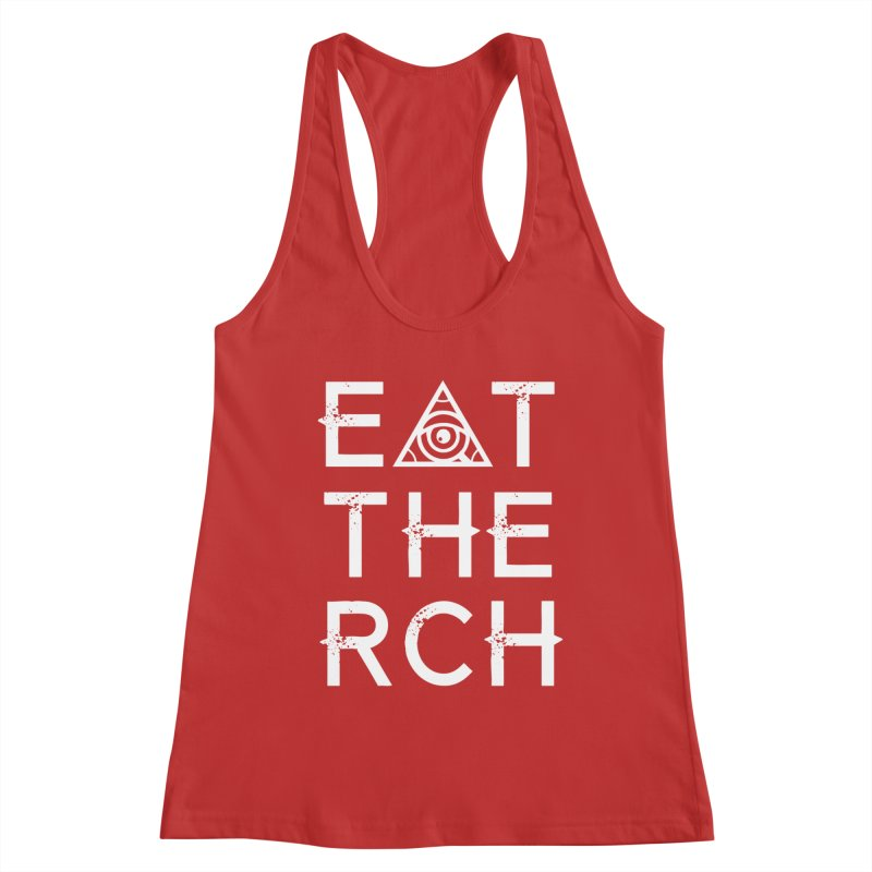 Eat The Rich - Dark Women's Tank by 90FIVE