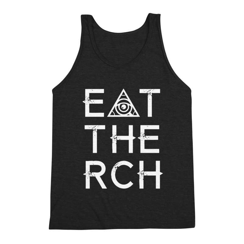 Eat The Rich - Dark Men's Tank by 90FIVE