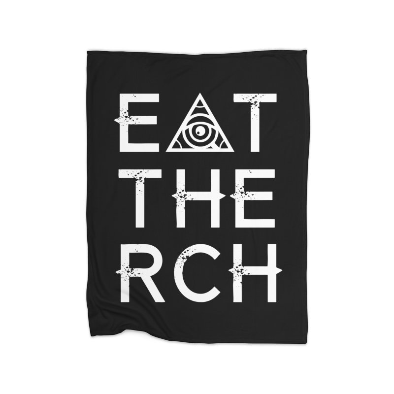 Eat The Rich - Dark Home Blanket by 90FIVE