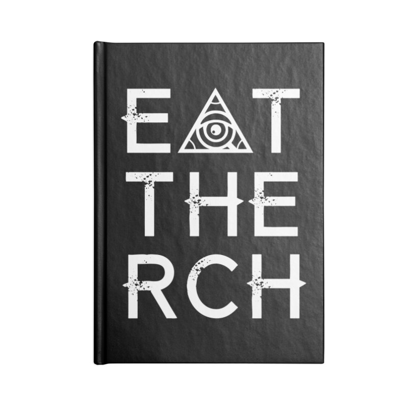 Eat The Rich - Dark Accessories Notebook by 90FIVE