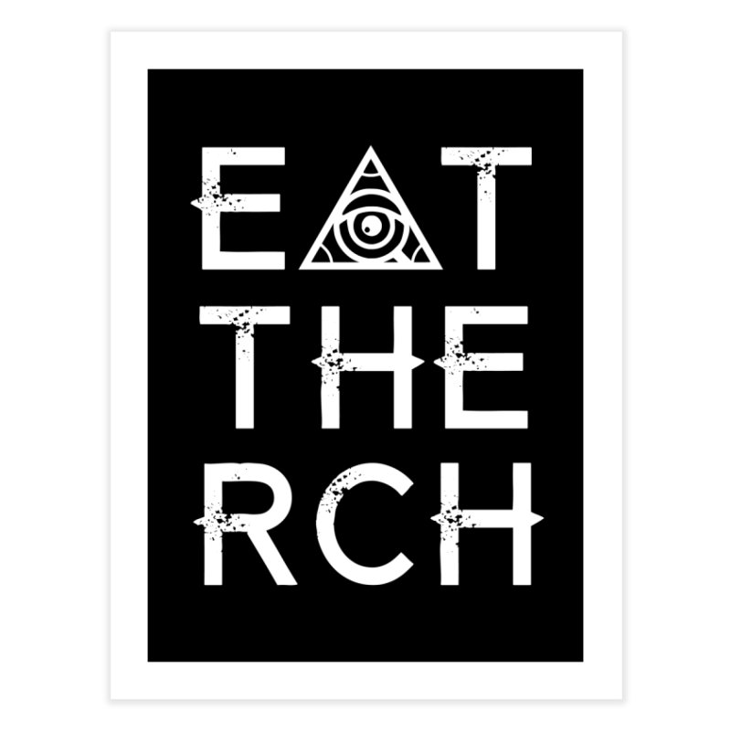 Eat The Rich - Dark Home Fine Art Print by The 1984 Society
