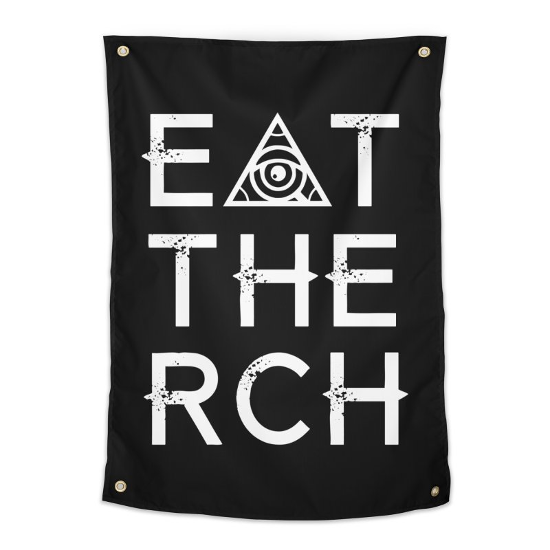 Eat The Rich - Dark Home Tapestry by 90FIVE
