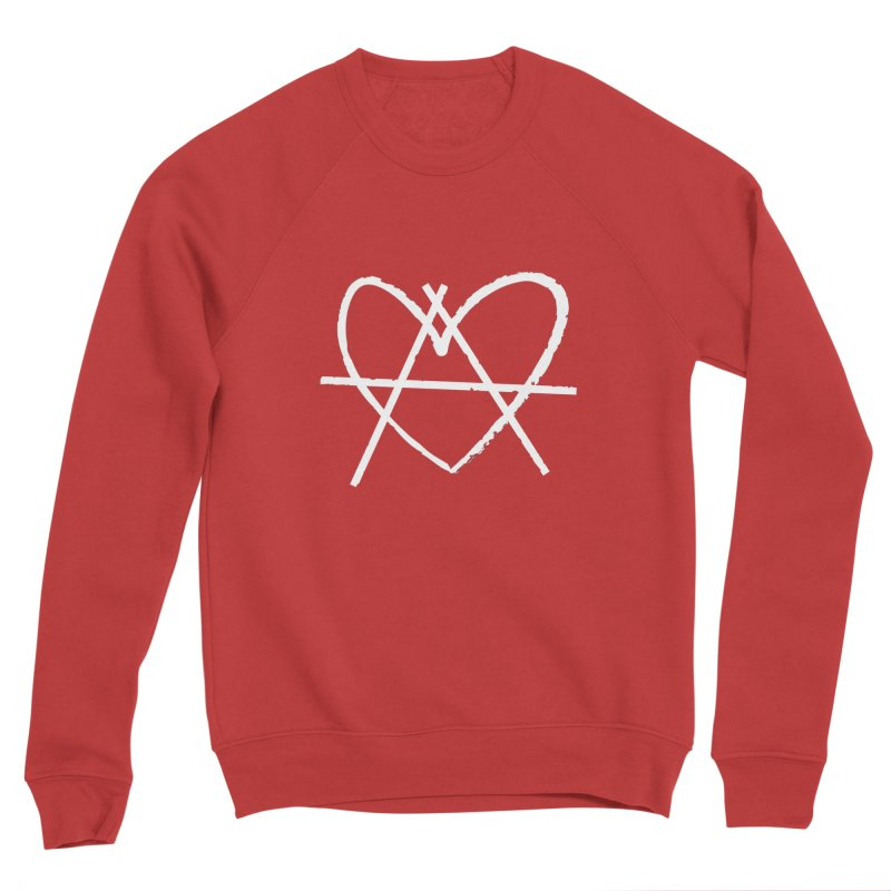 Anheartchy - Anarchy Heart - Dark Men's Sweatshirt by 90FIVE