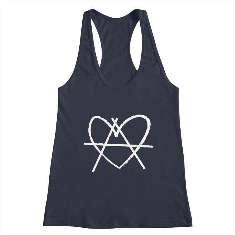 Anheartchy - Anarchy Heart - Dark Women's Tank by 90FIVE