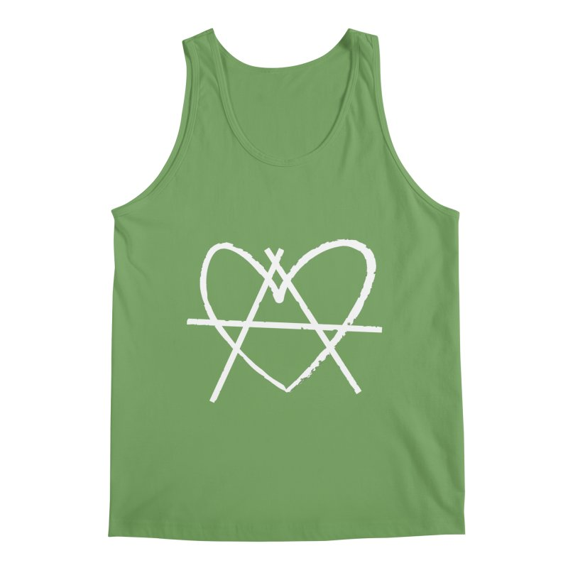 Anheartchy - Anarchy Heart - Dark Men's Tank by 90FIVE