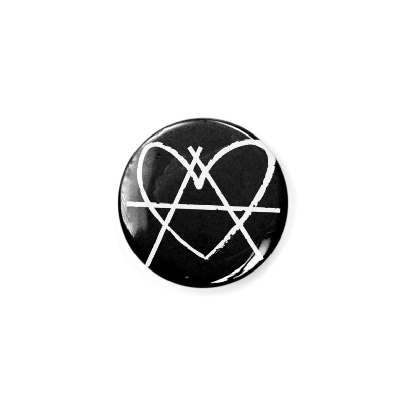 Anheartchy - Anarchy Heart - Dark Accessories Button by 90FIVE