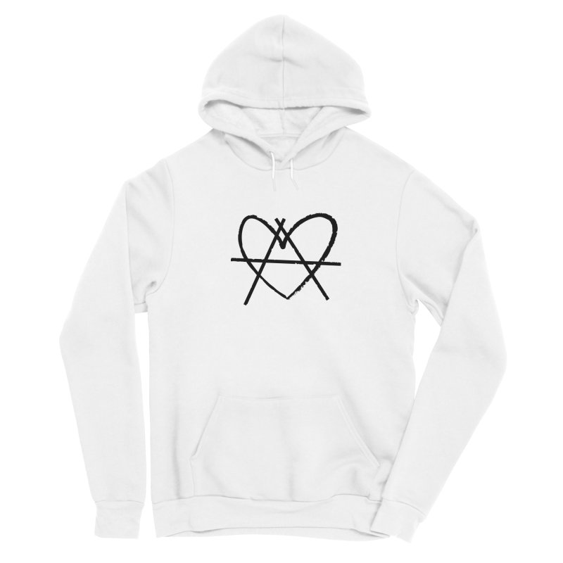 Anheartchy - Anarchy Heart - Light Women's Pullover Hoody by 90FIVE