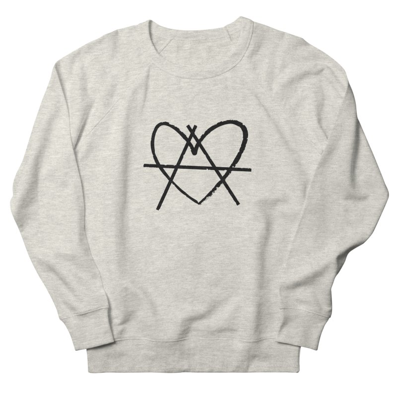 Anheartchy - Anarchy Heart - Light Men's Sweatshirt by 90FIVE