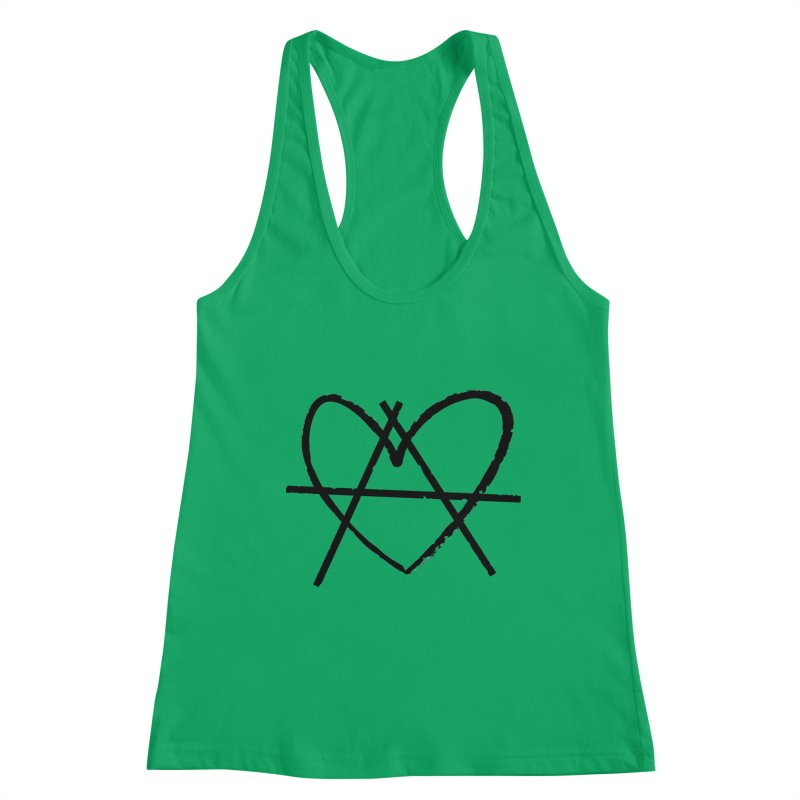 Anheartchy - Anarchy Heart - Light Women's Tank by 90FIVE