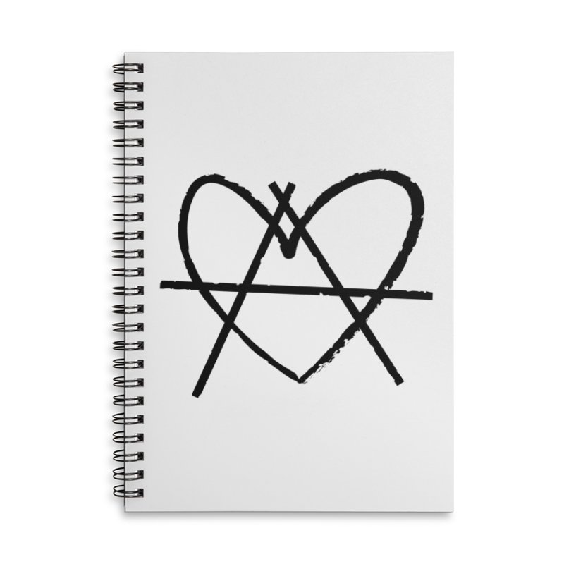 Anheartchy - Anarchy Heart - Light Accessories Notebook by 90FIVE