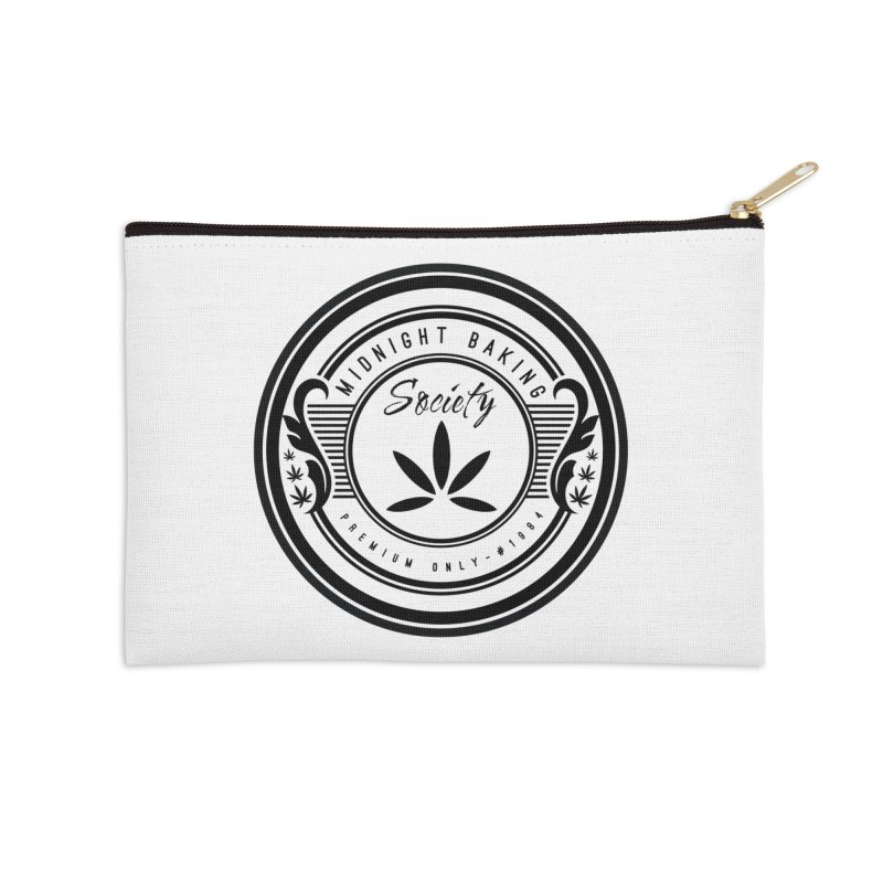 Midnight Baking Society - Light Accessories Zip Pouch by 90FIVE