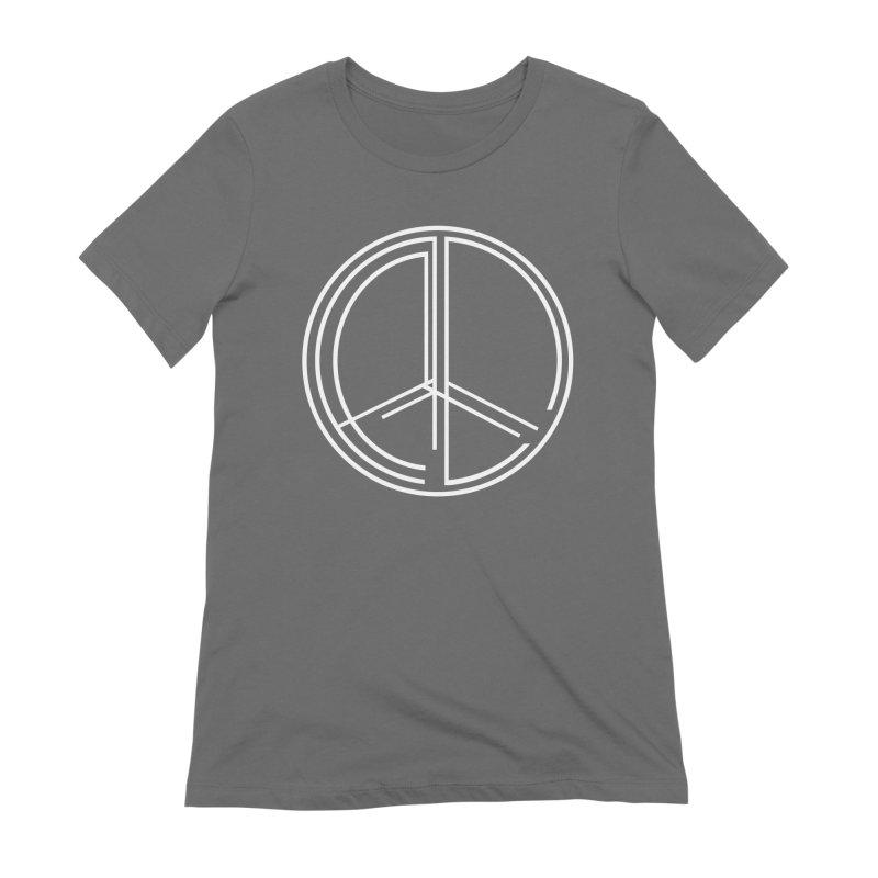 Find Peace - Dark Women's T-Shirt by 90FIVE