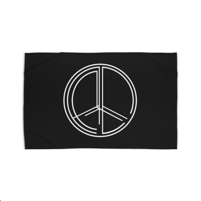 Find Peace - Dark Home Rug by 90FIVE