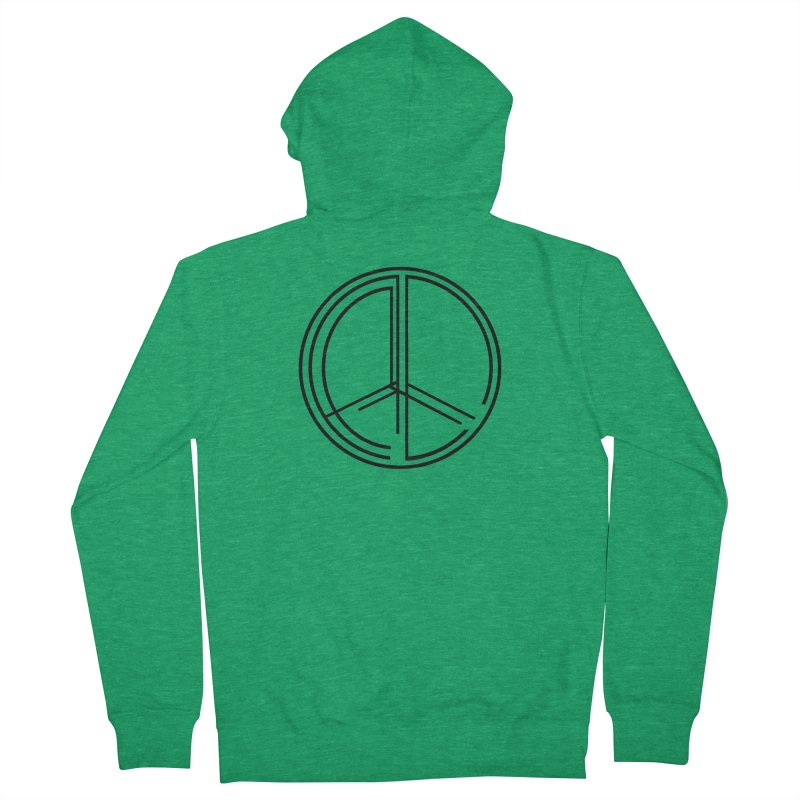 Find Peace - Light Men's Zip-Up Hoody by 90FIVE