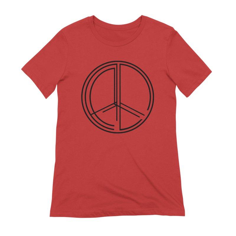 Find Peace - Light Women's T-Shirt by 90FIVE