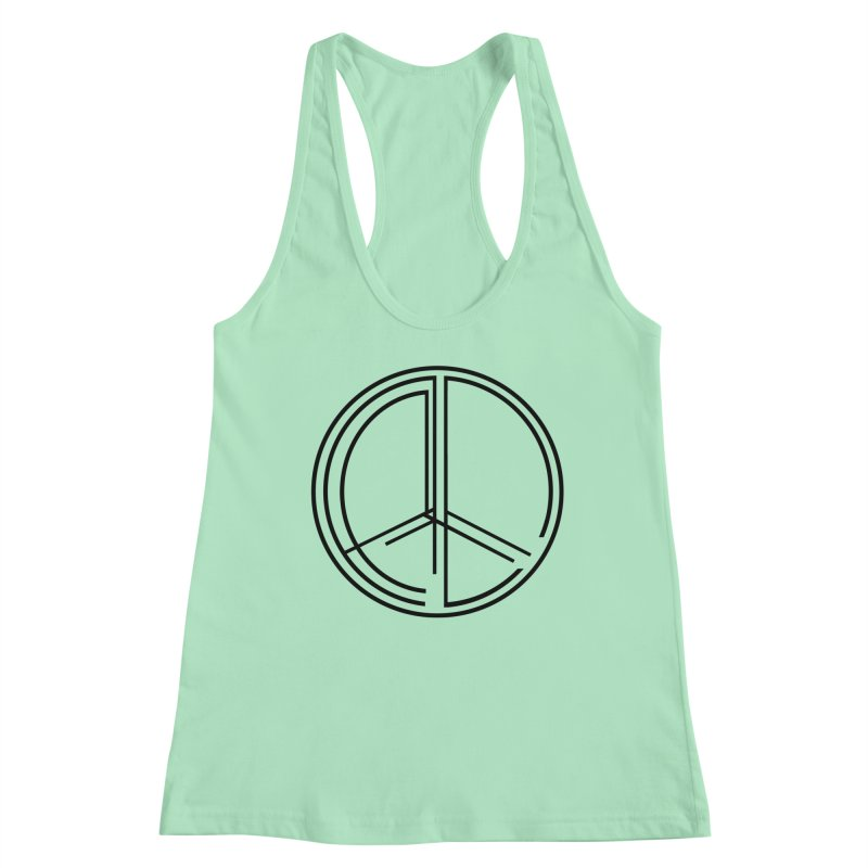 Find Peace - Light Women's Tank by 90FIVE