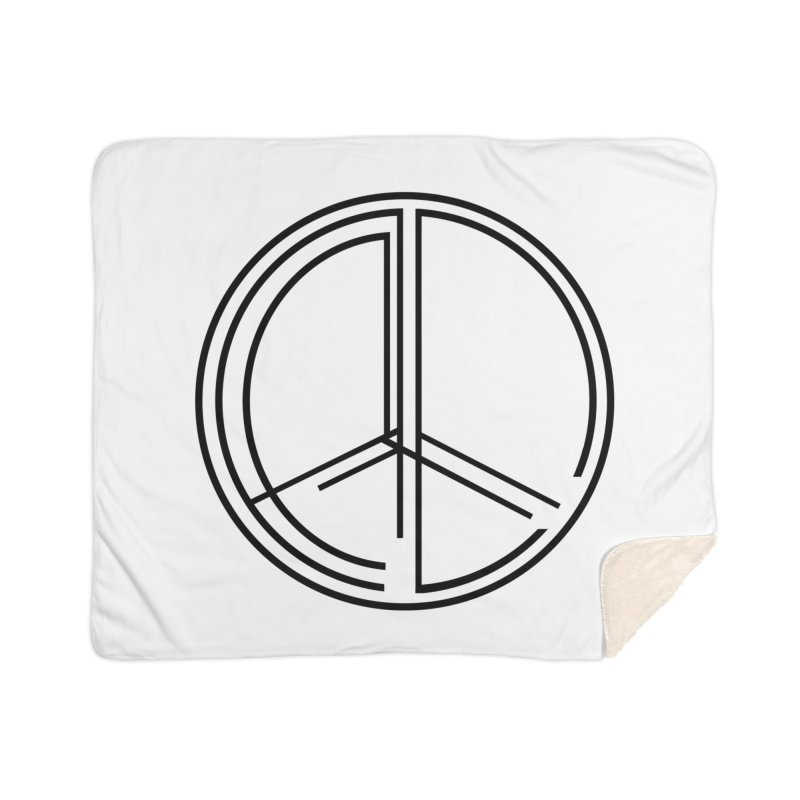 Find Peace - Light Home Blanket by 90FIVE