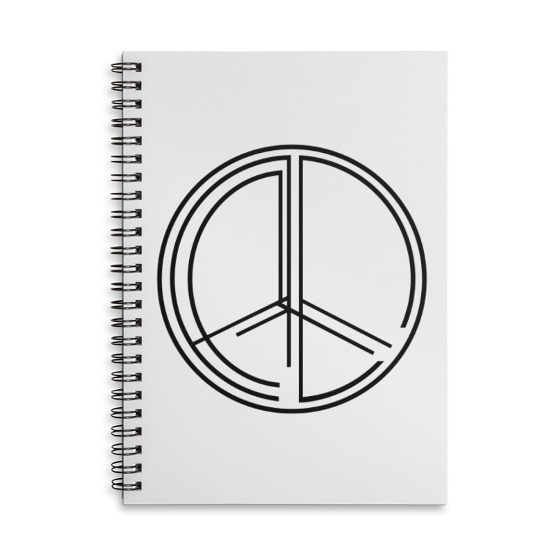 Find Peace - Light Accessories Notebook by 90FIVE